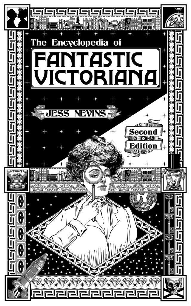 cover to The Encyclopedia of Fantastic Victoriana Second Edition
